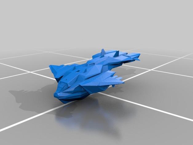 鹈鹕运输机 3D打印模型渲染图