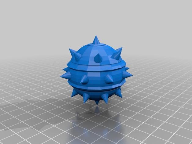 炸弹模型 3D打印模型渲染图