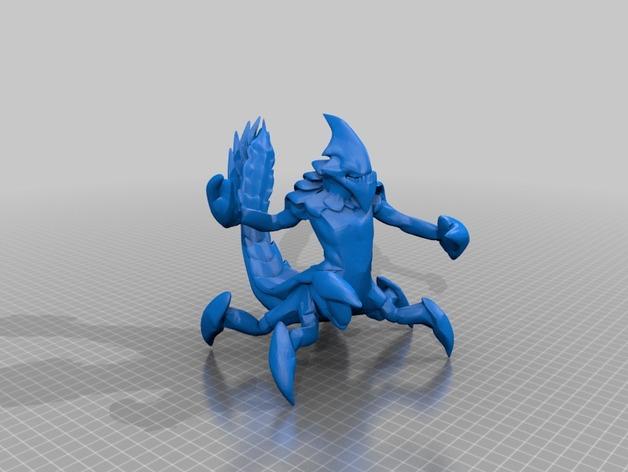 魔兽争霸 沙王模型