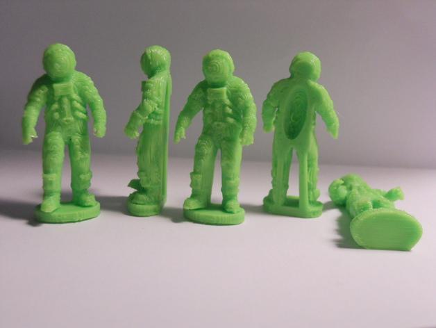 阿波罗号宇航员模型 3D打印模型渲染图