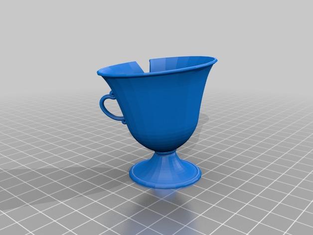 茶壶太太和杯子