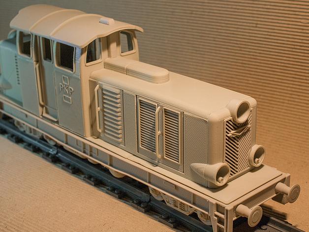 Diesel 01火车头模型 3D打印模型渲染图