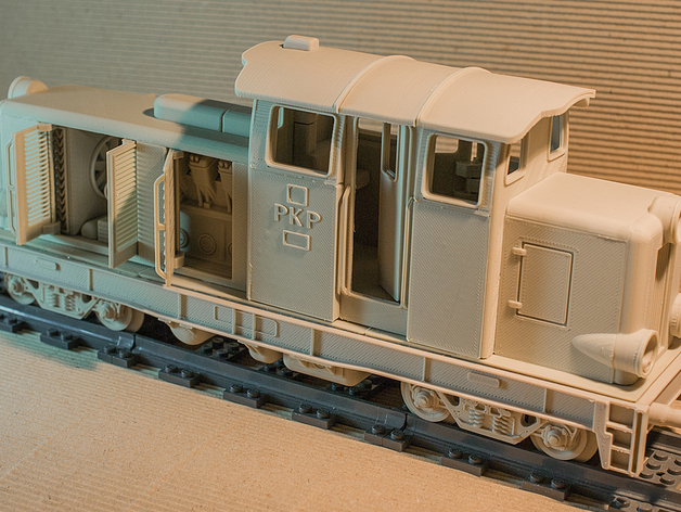 Diesel 01火车头模型
