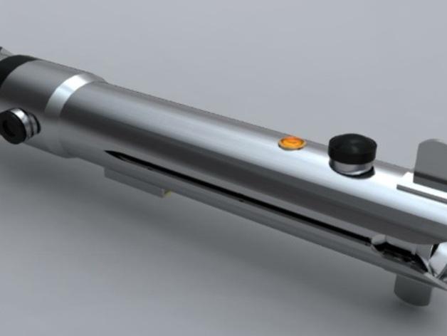 Ahsoka的光剑 3D打印模型渲染图