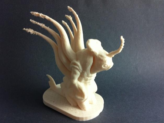 外星人Grezan 3D打印模型渲染图