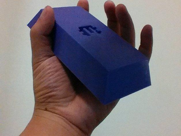 无主之地 紫矿 3D打印模型渲染图