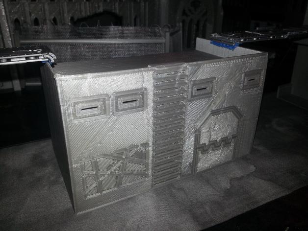 大厦 3D打印模型渲染图