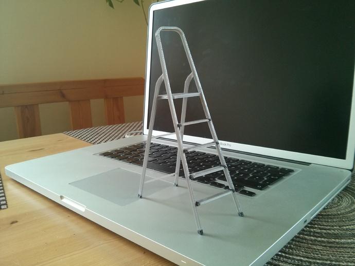 梯子 3D打印模型渲染图
