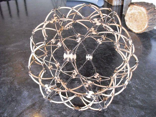 霍伯曼球体 3D打印模型渲染图
