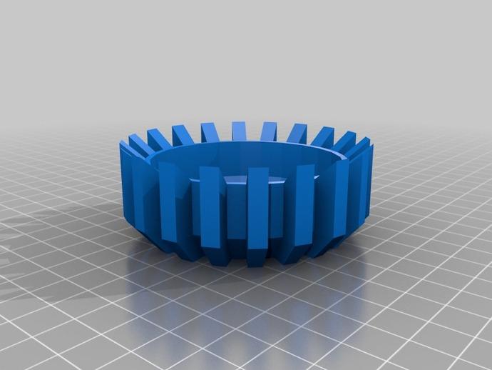 能量环盖帽 3D打印模型渲染图