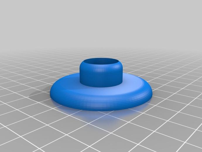 风力涡轮机模型 3D打印模型渲染图