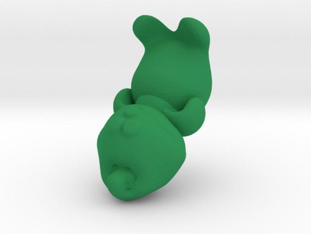 格林奇  3D打印模型渲染图