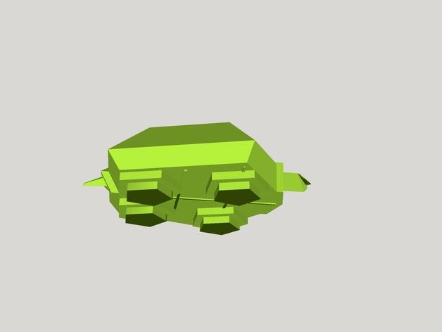 五边形海龟
