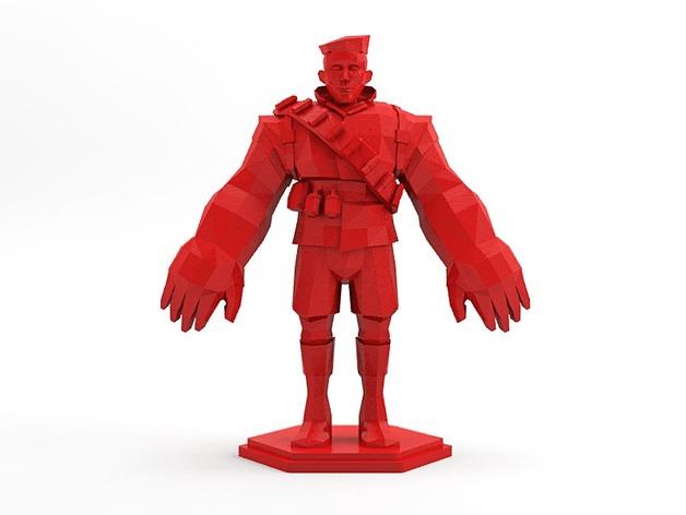 军团要塞 士兵模型