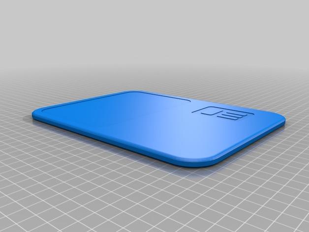 星际争霸平板 3D打印模型渲染图