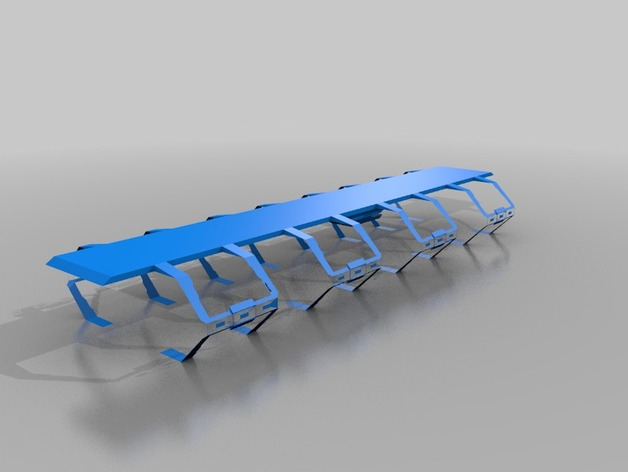Nemesis船坞 3D打印模型渲染图