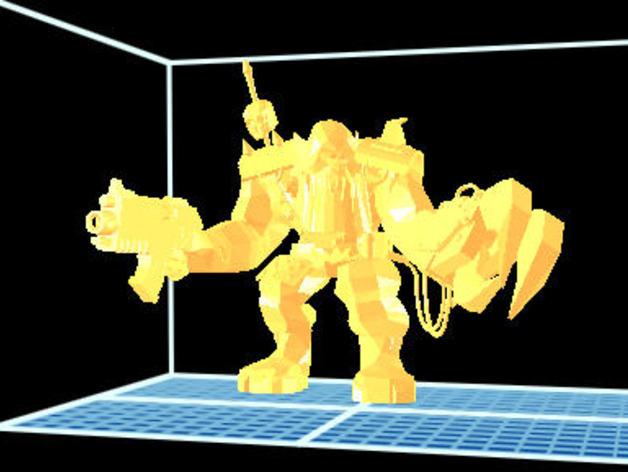 魔兽争霸兽族人模型 3D打印模型渲染图