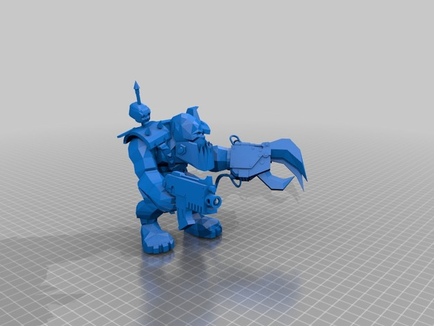 魔兽争霸兽族人模型