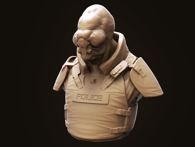 Bent Copper外星人模型