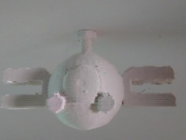 小磁怪  3D打印模型渲染图
