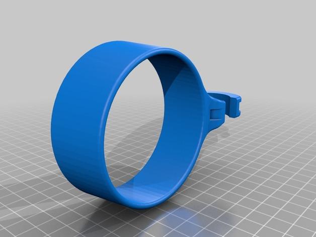 咖啡杯托 3D打印模型渲染图