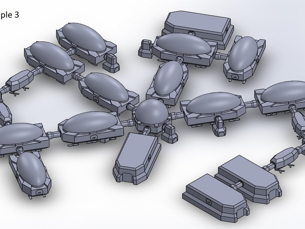 模组化火星基地