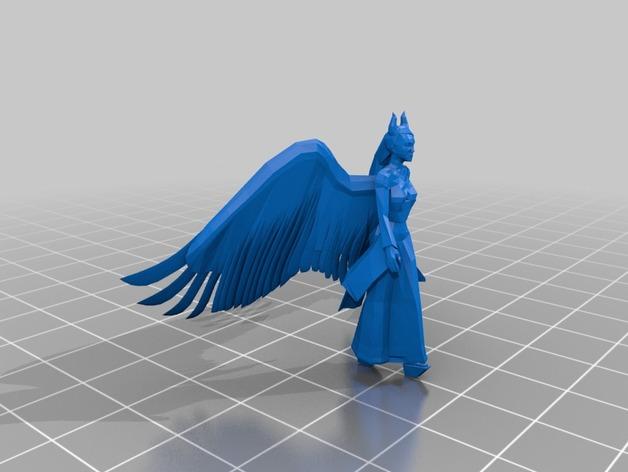 梅尔菲森特 人物模型