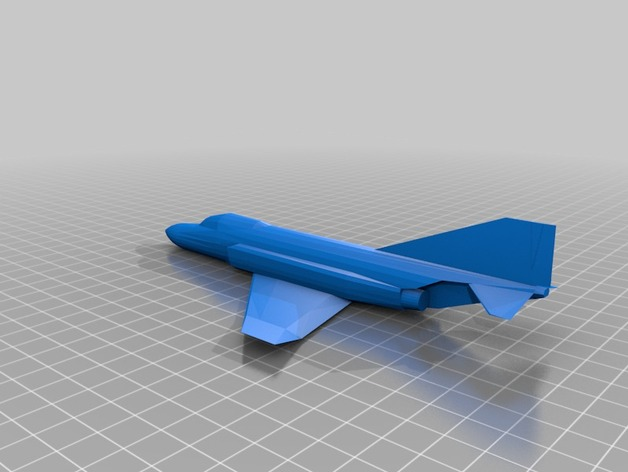 F-4 鬼怪战斗机 3D打印模型渲染图