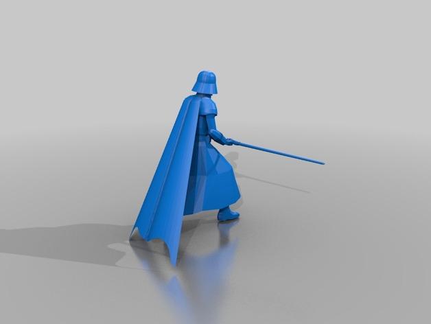 星球大战达斯维达 3D打印模型渲染图