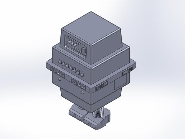 星球大战Gonk机器人 3D打印模型渲染图