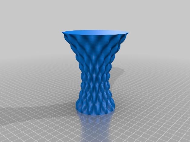 正弦和余弦曲线花瓶