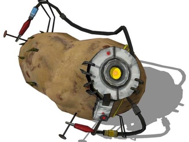 土豆发电机  3D打印模型渲染图
