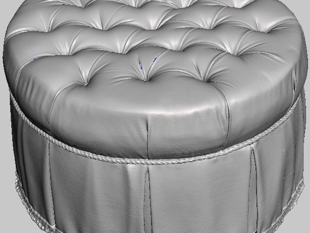 圆形沙发凳