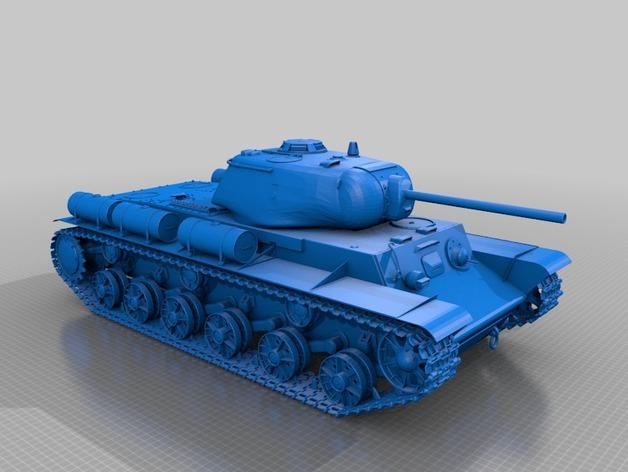 KV-1S坦克