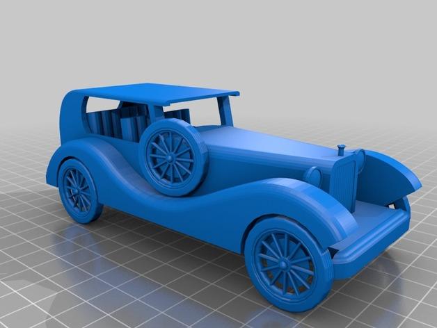 复古车模型