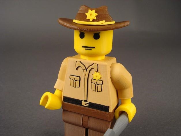 Rick Grimes人物模型