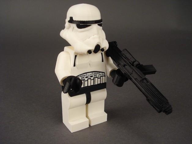帝国风暴兵 3D打印模型渲染图