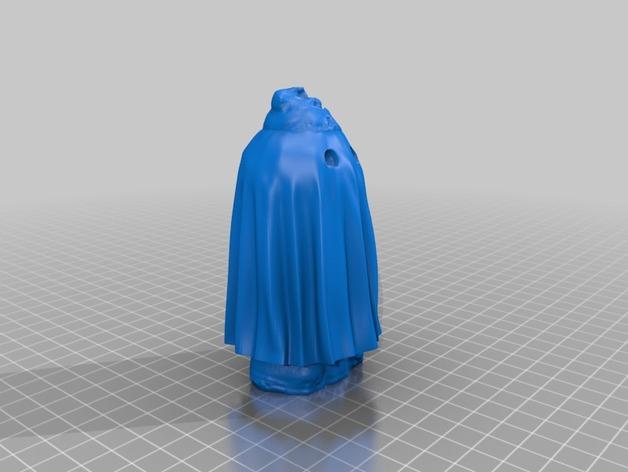小矮人幽灵 3D打印模型渲染图