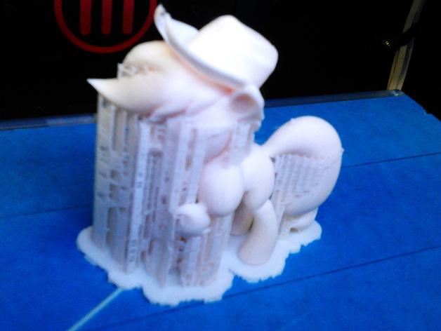 我的小马驹 Applejack模型