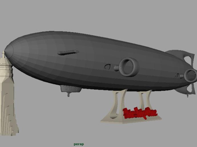 齐柏林硬式飞艇