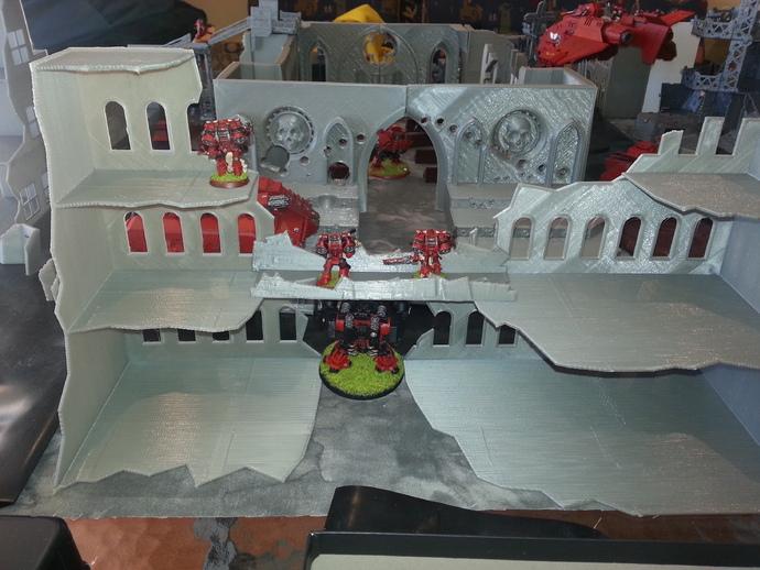 废墟 游戏造型