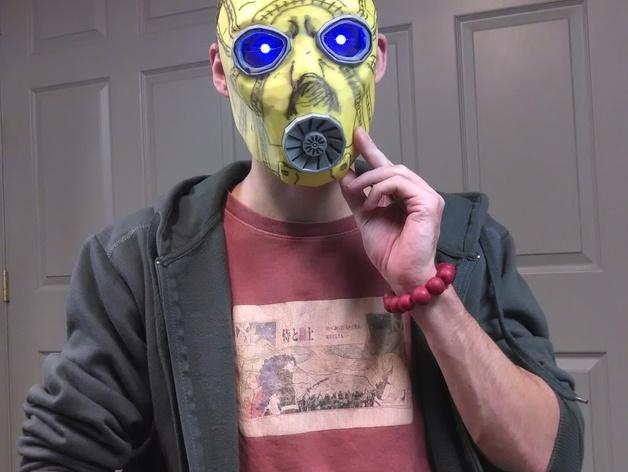 无主之地2Psycho面具
