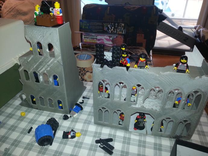 游戏废墟建筑