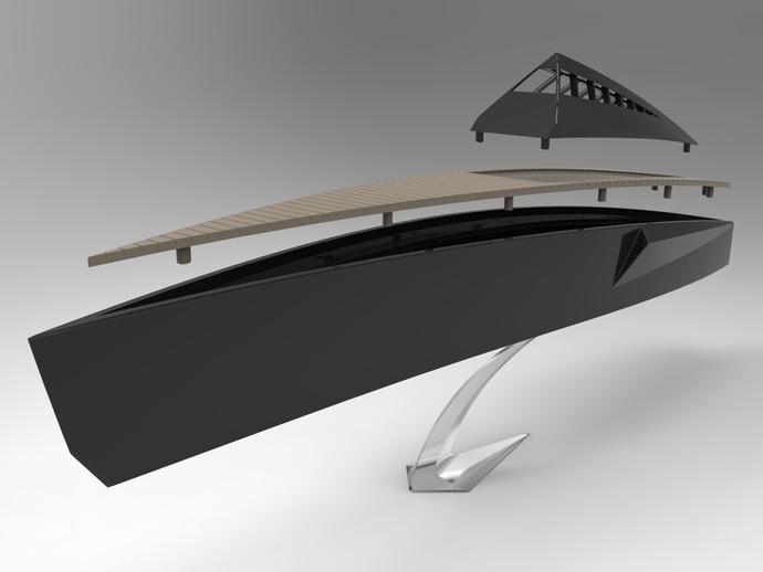 Proteus船