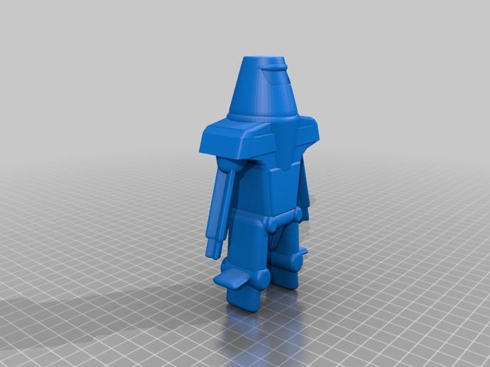 Maxamillion机器人  3D打印模型渲染图