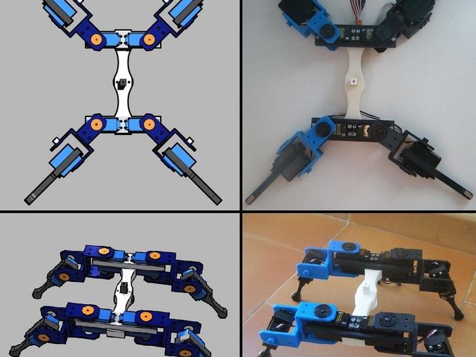 AT-AS四足机器人
