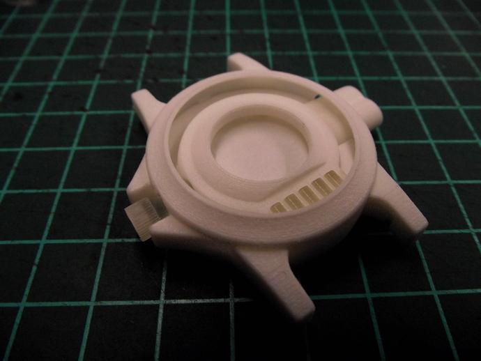 蛛网发射器 3D打印模型渲染图