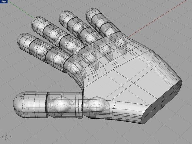 机器人的手