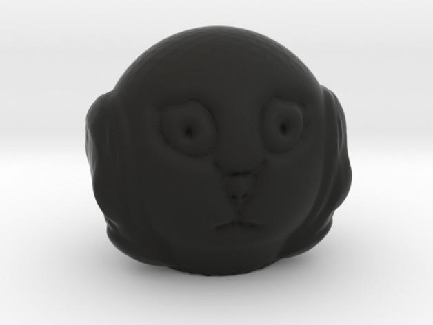 人头模型 3D打印模型渲染图