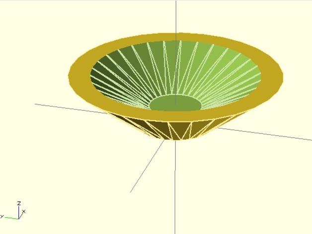 烟灰缸 3D打印模型渲染图